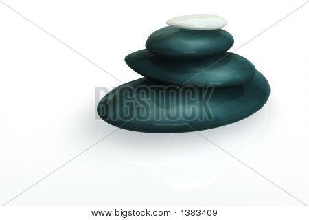 3D Balanced Stones