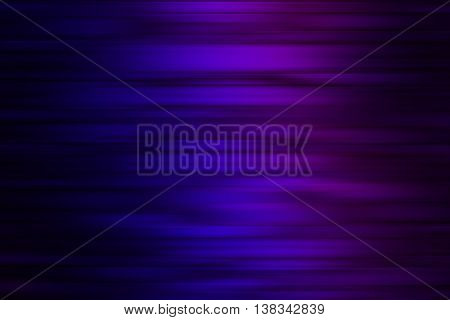 Blue purple and black blend to create abstract background