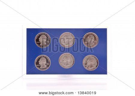6 Uncirculated Us Quarters