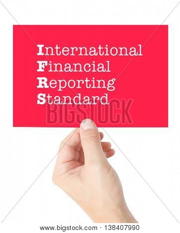 IFRS concept