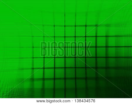 Horizontal Green Vintage Tv Grid Illustration Background