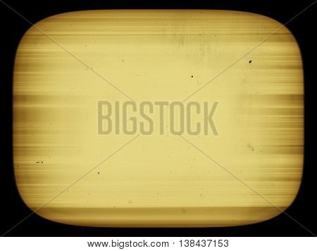 Horizontal Sepia Retro Vintage Tv Screen With Dust Abstraction B