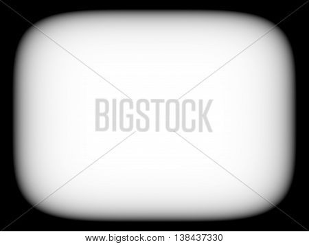Horizontal Blank Empty Black And White Retro Tv Screen Abstracti