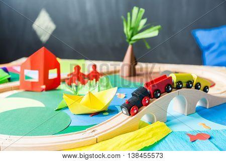 Toys In The Kindergarden