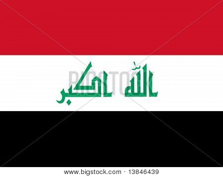 Iraq National Flag