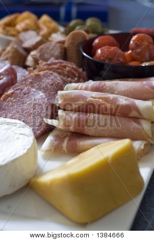 Antipasto; Meat And Cheese Platter