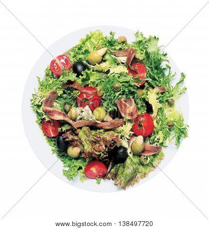 Delicious gourmet vegetables food green healthy eating