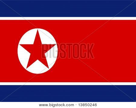 North Korea National Flag