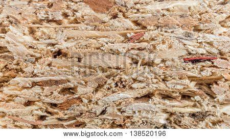 Macro shot of cork background or texture