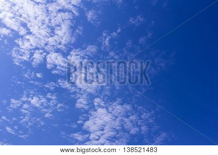 Beauty Clouds with blue sky , background