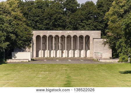 Nurnberg bavaria / Germany - July 18th 2014: Hall of Honour built in memory of German soldiers who died during World War I