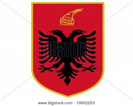 Albania Emblem