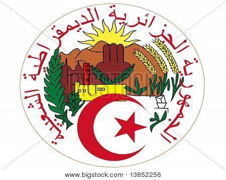 Algeria Emblem