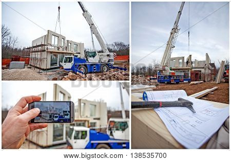 Prefabricated House Building