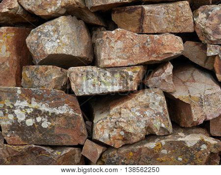 Muro di pietra, recinzione, barriera, roccia, divisione