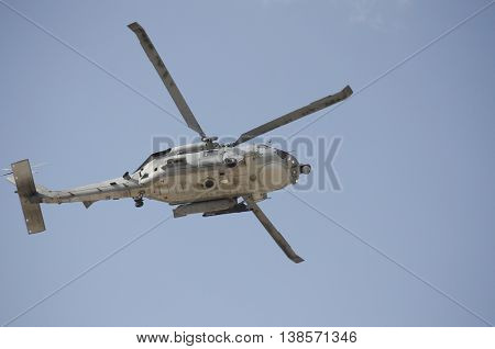 Black hawk rescue support team uh-60 helicopter