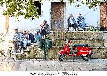 Greek Street Life