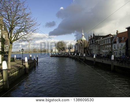 the beautifull City of Dordrecht in the netherlands