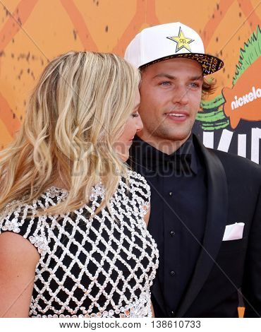 Jamie Anderson at the Nickelodeon Kids' Choice Sports Awards 2016 held at the UCLA's Pauley Pavilion in Westwood, USA on July 14, 2016.