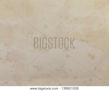 Rough textured blank stained paper photo background