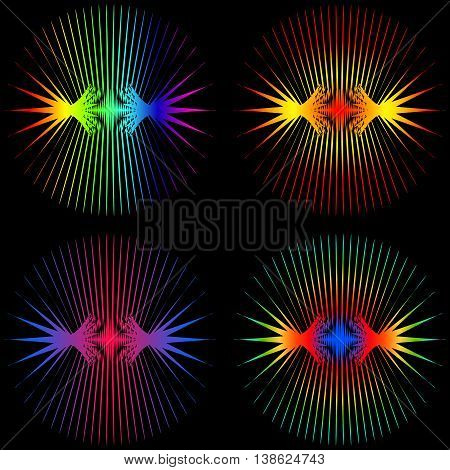 Sound Waves. Neon dark matter wave oscillations