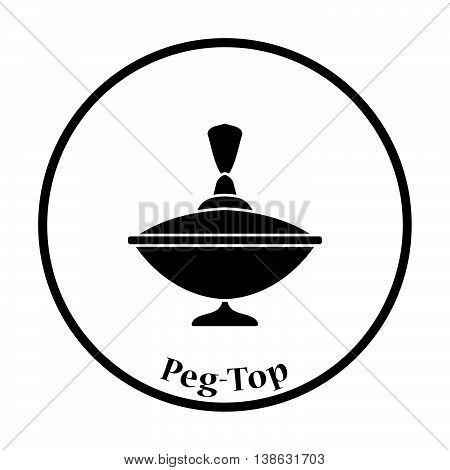 Peg-top Icon