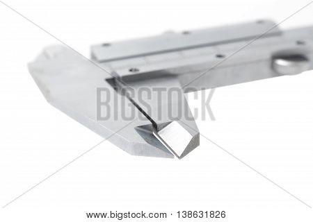 Vernier Caliper Isolated On White Background