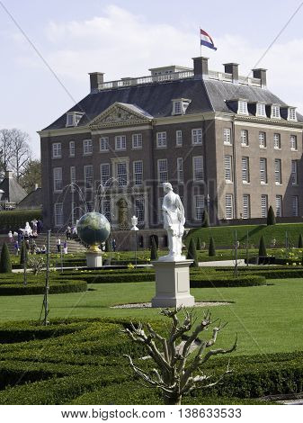 the Castle of het loo in holland