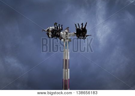 Teens On A Ride