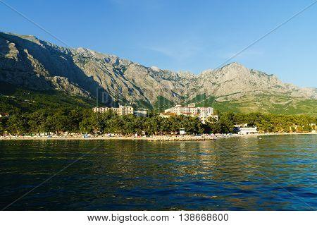 Baska Voda is a seaside resort on the Makarska Riviera
