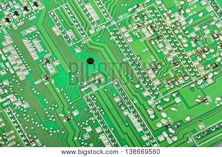Green Fax Motherboard