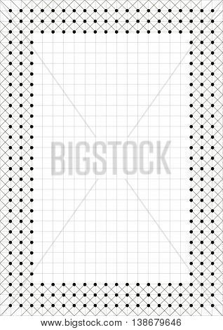 Vector Template With Space For Text
