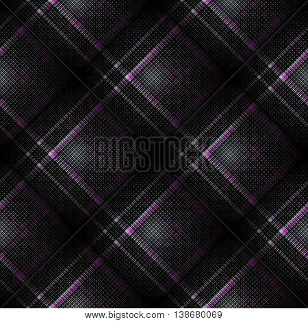 Checkered seamless pattern. Cowboy ornament. Abstract symmetrical background. Vector eps10