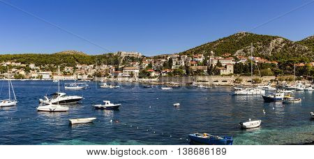 Stari Grad On Hvar Island, Croatia
