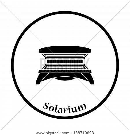 Icon Of Solarium