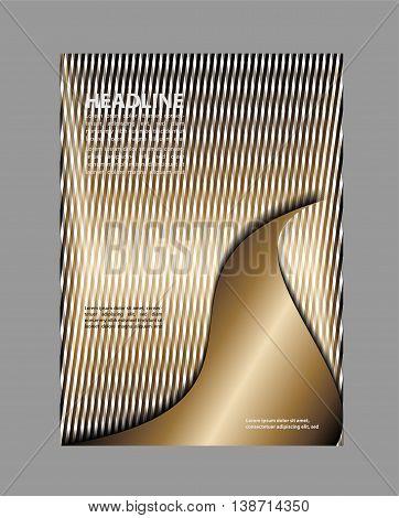 Flyer design background. Brochure flyer background template