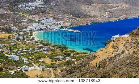 scenic Greece - Amorgos island - Aegialis bay, Cyclades