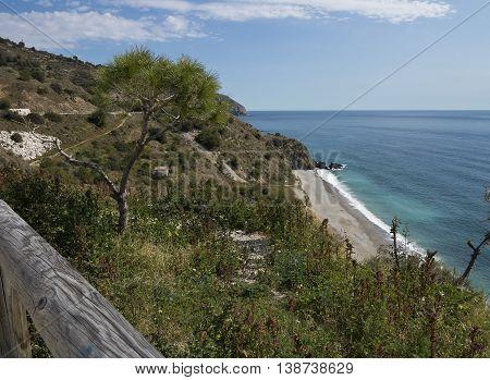 Beach of Maro - Cerro Gordo Nature Park