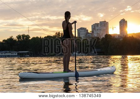 Sup Stand Up Paddle Board Woman Paddle Boarding19