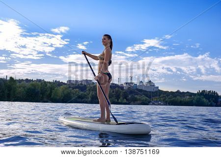 Sup Stand Up Paddle Board Woman Paddle Boarding14