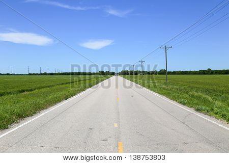 Road In Kansas