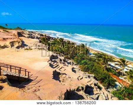 Pipa Beach In Brazil