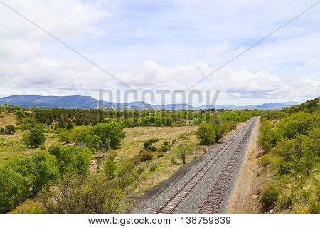 Tracks And Panorama