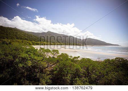 Cape Tribulation Beach in the Daintree, Queensland, Australia