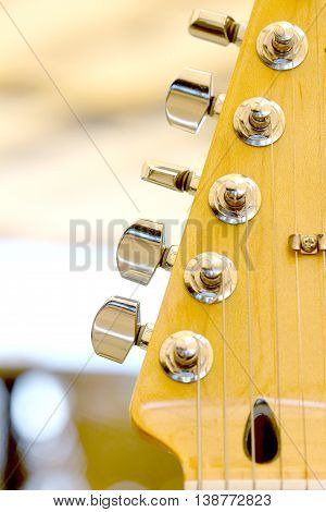 picture of an Electric guitar details music theme