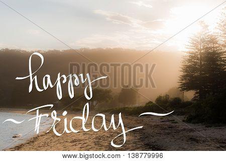 Happy Friday Greeting