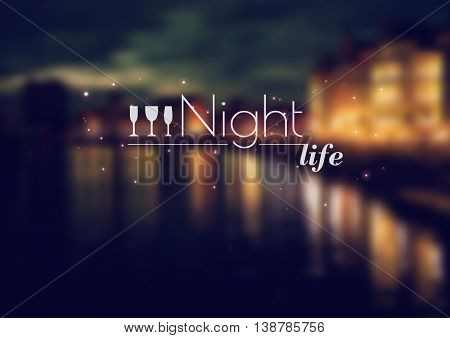 Blurred Night View Vector Photo Free Trial Bigstock