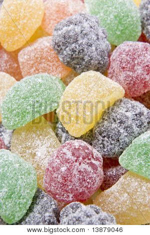 Sugared Fruit Chew Sweets poster