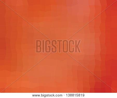Orange quadrilaterals illustration. Quadrilaterals design. Quadrilaterals mosaic.