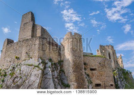 Castle Beckov, Slovakia